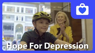 Boy Raises Money To Fund Depression Research After Losing His Dad