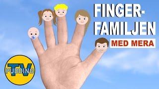 Barnsånger på svenska - Fingerfamiljen, Tio små indianer m.m.