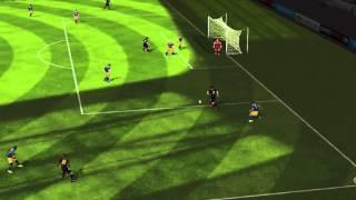 FIFA 14 iPhone/iPad - RB Salzburgo vs. FC Barcelona