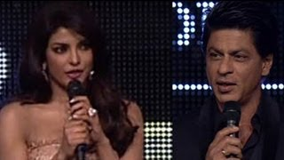 Breathtaking Priyanka, dashing SRK at TOIFA