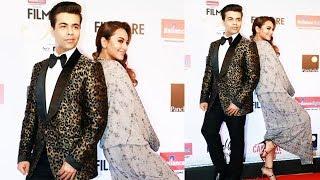 Karan Johar With Sonakshi Naughty Being Naughty