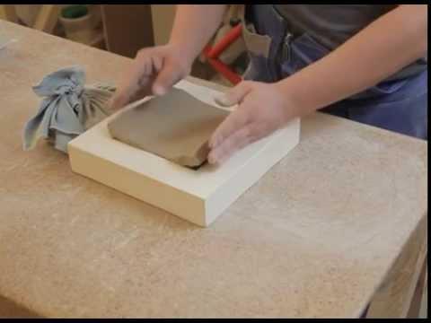 Как изготовить плитку из гипса