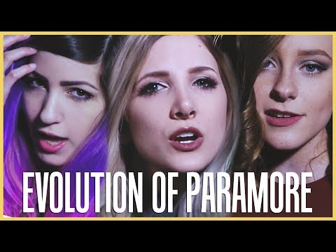 Evolution of Paramore - Mashup By Halocene, ft. Terabrite and First To Eleven