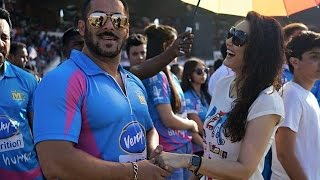 Salman Khan, Sunny Deol others at CCL Cricket Match in Ahmedabad Gujarat