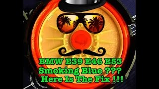 BMW  Blue Smoke Fix CCV PCV Delete and Catch Can Install Explained E39 E53 E46 E90 E60 M52tu M54