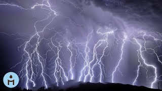 Nature Sounds: Distant Thunder & Rain Sounds One Hour for Sleeping, Sleep Aid for Everybody ☂802