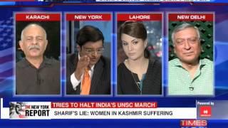 The Newshour Debate from New York: Nawaz Sharif Self Goal - Full Debate (26th September 2014)