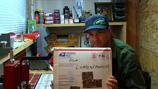 Unboxing Lumberman2011 Came Down The Chimney Early
