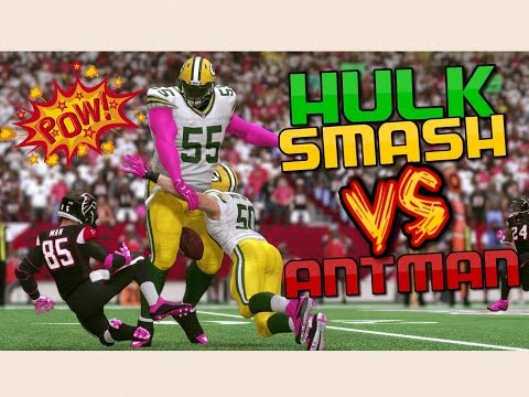 THE MATCHUP OF A LIFETIME!! ANT MAN vs HULK!? Madden 17 Super Hero Series
