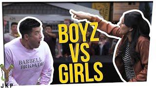 BOYS VS GIRLS: Song Lyrics Edition ft. Steve Greene & Nikki Limo