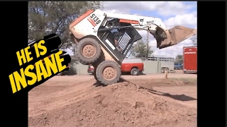 He is the most Insane, Skilled, Skid steer Operator in the World