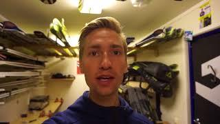 Mounting skis and birthdayboy Andreas Wellinger visit us - Vlog 06