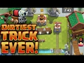 Clash Royale *DIRTIEST TRICK EVER!* Angry TROLL mode!