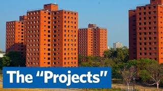 Why did we build high-rise public housing projects?