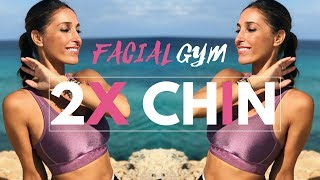 Can You Get Rid of a Double Chin? Try Facial Gymnastics in 8 minutes