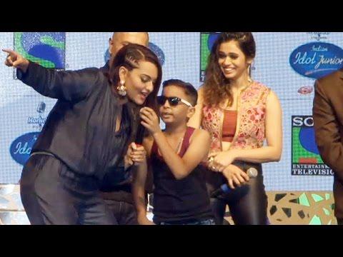 Sonakshi Sinha RAPS On Honey Singh's PARTY ALL NIGHT @ Indian Idol Junior