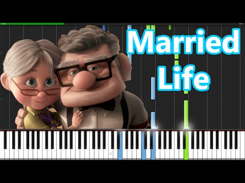 Xxx Mp4 Married Life Up Piano Tutorial Synthesia PianoMavs 3gp Sex
