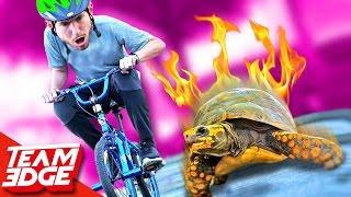 Slow Bike Race!! (Slowest wins!)