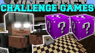 Minecraft: ARMY SOLDIER CHALLENGE GAMES - Lucky Block Mod - Modded Mini-Game