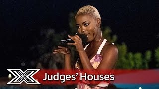 Gifty Louise brings the party with The Kungs' This Girl | Judges' Houses | The X Factor 2016