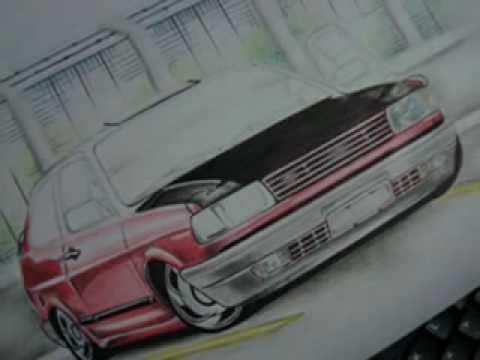 Desenhos de Carros Mateus Luis
