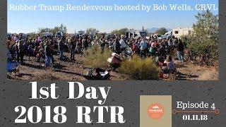 Episode 4-2018 RTR. Day One. The Rubber Tramp Rendezvous.