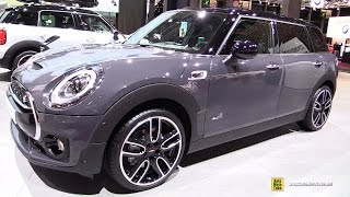 2017 Mini Cooper SD Clubman All4 190ch - Exterior and Interior Walkaround - 2016 Paris Motor Show