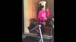Miss Pooja in Gym on Date on ford