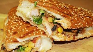طريقة تحضير ساندويش فرانسيسكو الدجاجChef Ahmad AllCooking/ Francisco Chicken Sandwich