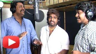 Sufi Song Recording With Amitraj & Adarsh Shinde - Pyaar Vali Love Story - Marathi Movie