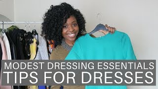 Modest Dressing Essentials | Tips For Dresses