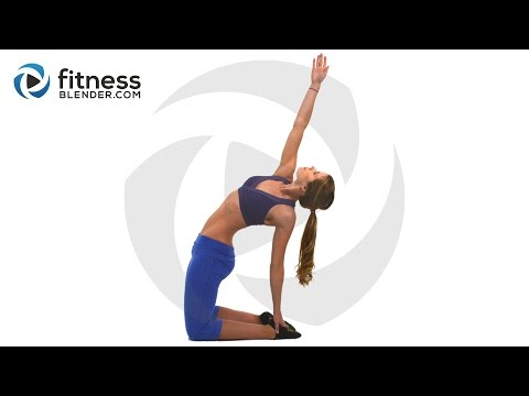 Bodyweight Only Fat Burning HIIT Cardio Workout Total Body Toning Fitness Blender Blend
