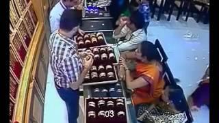 Jewellery Shop Theft Cctv Footage Clip