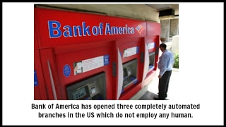 Bank of America Opens 3 Branches without Employees