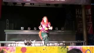 Amrapali-Leena Goel-Russia- dancing Arina  Solodkova-Saj daj ke -Holi mela 2013