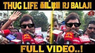 Thug Life காட்டிய RJ Balaji - Latest Funny Speech | Nadigar Sangam Election | Nettv4u