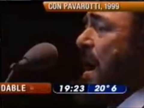 Luciano Pavarotti and Mercedes Sosa Caruso Argentina 1999