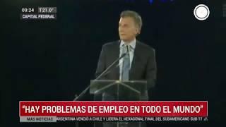 Canal 26 - Palabras Del Presidente Macri En La Cena De CIPPEC