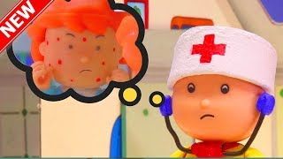 NEW! ROSIE HAS CHICKEN POX | Funny Animated cartoons Kids | Caillou Stop Motion | Cartoon movie