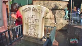 NEW Haunted Mansion interactive queue at Walt Disney World's Magic Kingdom