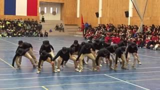Baile Sincronizado Masculino - Alianza Blanca Gangsters 2016 / CMPE