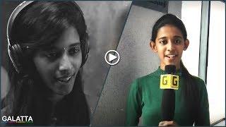 Working with #ARRahman and Yuvan - Super Singer Priyanka