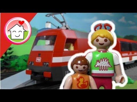 Playmobil Film deutsch Zug fahren - Playmobil Eisenbahn - Kinderfilm von family stories