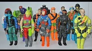 GI Joe VLOG 8: Ten AWESOME GI Joes From the '90s!