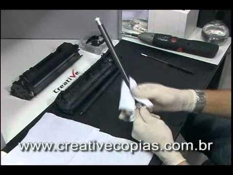 Video Aula Recarga Toner HP 1160, 1320, 3390, Q5949A, Q5959X, 49A, 49X