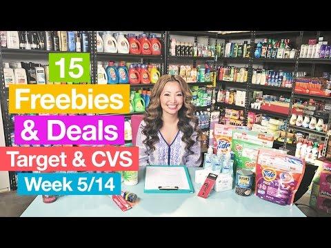 ★ 15 FREEBIES & Deals from Target & CVS this Week (5/14-5/20)