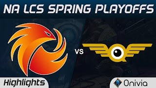 P1 vs FLY Highlights Game 4 NA LCS Spring Playoffs 2017 Phoenix1 vs FlyQuest