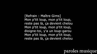 Maître Gims Loup Garou Paroles Lyrics