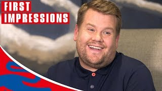 James Corden Reveals his England Hero! | First Impressions | World Cup 2018