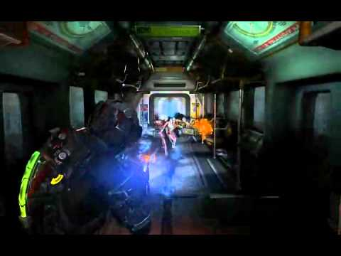 Dead Space 2 Subway scene